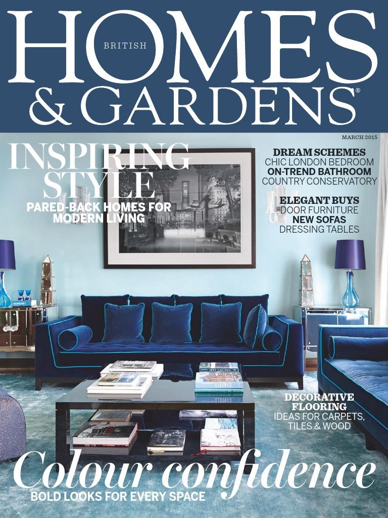 HomesGardens201503.pdf   Interior Design   Tile