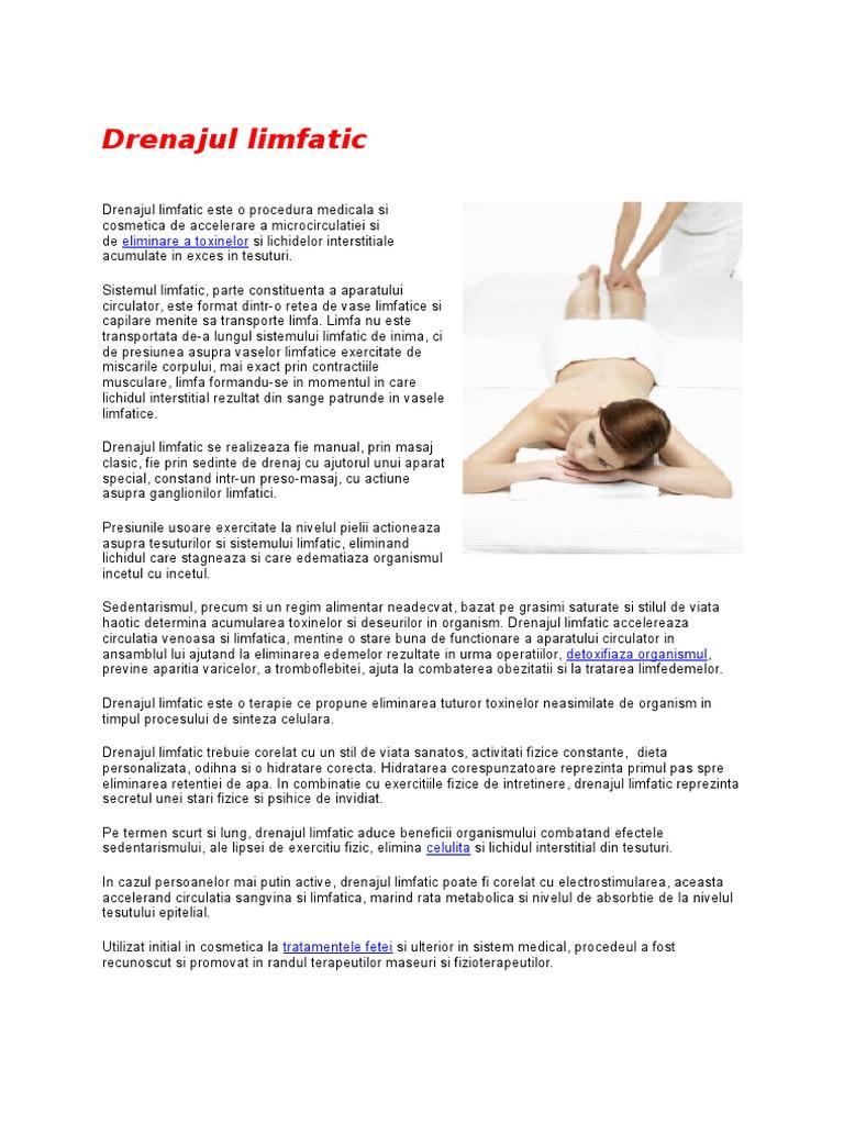 exercitii fizice pentru drenaj limfatic)