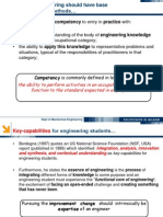 An Introduction to Engineers Competencies - 2012