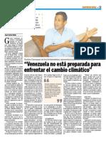 Entrevista a Gustavo Carrasquel en el Diario Versión Final