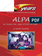 ALPA 40 Years on, Our Story So Far..