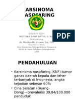 Ppt Print Karsinoma Nasofaring
