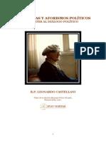 Sentencias y Aforismos Politicos - Castellani