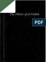The Fihrist of Ibn Nadim Vol.1