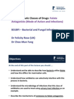 B5 Lecture Slides (CMF) Folate Antagonists (2)