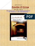pembunuhan dilorong by agatha christie