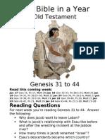 11 OT Genesis 31 to 44