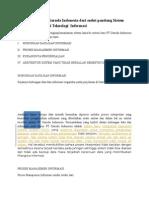 Permasalahan PT Garuda Indonesia Dari Sudut Pandang Sistem Informasi Teknologi Informasi