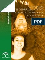 Activos Para El Desarrollo Positivo y La Salud Mental en La Adolescencia