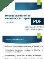 Curs1 2_Metode Moderne