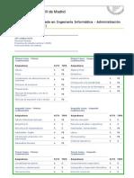 UC3M (Colmenarejo) Doble Grado en Ingª Informática - ADE