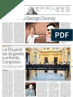 O Verdadeiro George Clooney, por Luis Fernando Veríssimo