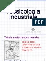 Tossicologia Industriale