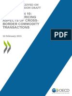 Public Comments Action 10 Cross Border Commodity Transactions