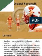 Teknik Otopsi Forensik