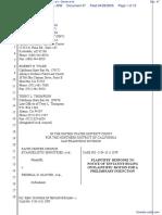 Faith Center Church Evengelist Ministries et al v. Glover et al - Document No. 47