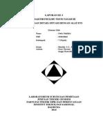 Format Cover Laporan