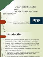 Jurnal - Postpartum Urinary Retention