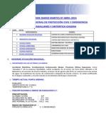Informe Diario Onemi Magallanes 07.04.2015