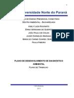 Plano de Desenvolvimento de Diagnóstico Ambiental