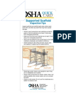 Supported Scaffold