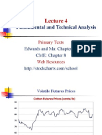 Fundamental and Technical Analysis of Commodity
