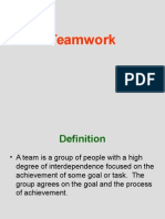 Team Work PowerPoint for WPP 200 Fall 2005 (1)