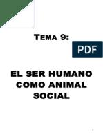 Tema 9 el ser humano como animal social