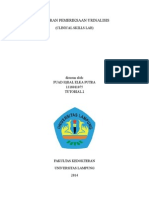 Laporan Inhal CSL Urinalisis