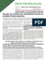 Boletín Informativo Abril 2015 IU Bollullos de la Mitación