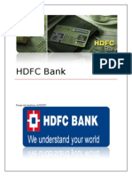 A Study on Financial Statement Analysis in Hdfc Bank Ltd 2013