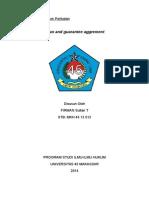 Hukum Perikatan Loand and Guarante Aggrement