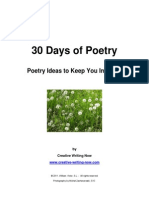 30 Days of Poetry