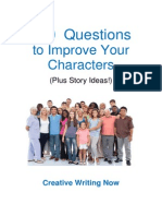 100 Questions to Improve Your Characters