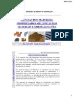 Aula 2 e 3 -Ciencias Dos Materiais e Propriedades Dos Materiais