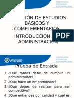 01.- La Administracion en Sus Origenes