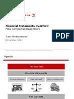 2013 - UGent IR - Bain Lecture Financial Statements - Voor Studenten