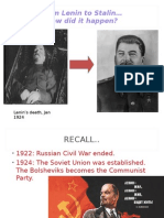 2015 Rise of Stalin