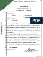 Maharaj v. Chertoff et al - Document No. 3