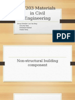 Presentation of  Materials in Civil Engineering