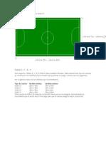 Dimensiones Oficiales Cancha Fútbol 5