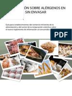 Alérgenos e intolerancias alimentarias