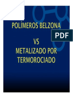 Belzona y Metalizado