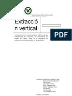 Informe Extraccion Vertical.