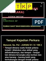 Olah Tkp Aspek Medik