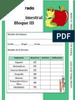 5to Grado Primaria - Bloque 3 (2014-2015)