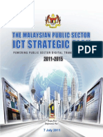 The Malaysian Public Sector ICT Strategic Plan - Powering Public Sector Digital Transformation 2011-2015