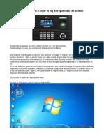 Instrucciones ZKSoftware