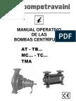 B21 Manual Centrifugas