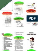 Leaflet Hipertensi Dokter Puskesmas Sukamerindu 2015